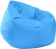 Homyl Sitzsack Bezug Bean Bag Sessel Sitzkissen Bezüge Abdeckung für Kinder - Himmelblau