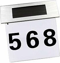 Homyl Solar Hausnummerlampe Hausnummernleuchte,