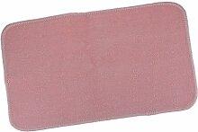 Homyl Spielteppich Kinderteppich zum Spielen - Rosa, 60 x 40cm