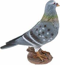 Homyl Tauben Vogelfigur Gartenfigur Gartendeko