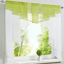 Homyl Tüll Voile Fenstervorhang Panel Vorhänge