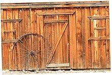 Homyl Wandteppich Tür/Fenster / Mauer Wandtuch