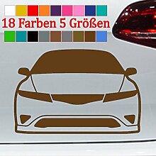 Honda Civic Silhouette Sticker Car Tuning Auto JDM