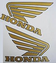 Honda Tank gold Aufkleber