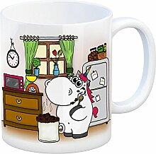 Honeycorns Kaffeebecher mit Einhorn Motiv Tasse