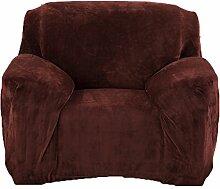 honeyhome 1place Beschichtung Schutz Sofa/Sessel-Bezug,/-Sofabezug für Polyester Wohnzimmer Art Décor Waschtisch Beschützer Größe 90bis 140cm Café A