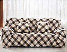 honeyhome Stoff Spandex-Sofabezug für/Beschichtung Schutz Sofa/Bezug für Sofa/Sessel-Bezug,, Polyester, B, 3-Sitzer