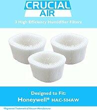 Honeywell 3 HAC, 504AW Luftbefeuchter, geeignet für Honeywell HCM - 600, HCM - 710, HCM - 300T &HCM - 315T, vergleichen Sie die Teilenummern #HAC, 504AW &Design, entworfen von Crucial Air