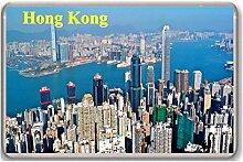 Hong Kong/fridge magnet, - Kühlschrankmagne
