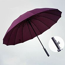 Hongge Automatische Führungsholm Regenschirm