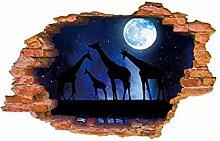 Hongge Dreidimensionale 3D Sternenhimmel Giraffe