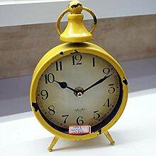 Hongge Kaminuhren,Antik Eisen Uhr kreative