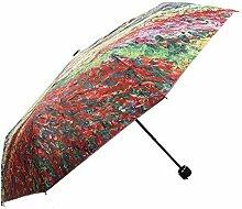 Hongge Reisegeschäft Regenschirm Windmühle