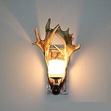 HONGLIKreative Geweih Lampe American Wandleuchte