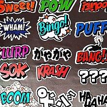 hongliu Comic Doodle Sticker Pack wasserdichte Box