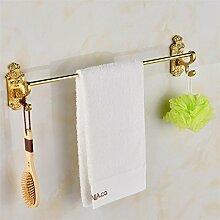 HONGLONG Die Bäder sind hängende Edelstahl Handtuchhalter Regal Kombination Kit bad Handtuchhalter B Badezimmer necessory