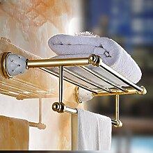 HONGLONG Die Bäder sind - im Regal gebaut Rose Gold Handtuchhalter, Badezimmer necessory
