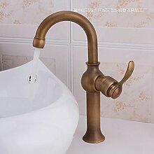 HONGLONG Europa - Stil Rereo Kupfer Waschbecken Waschbecken Wasserhahn