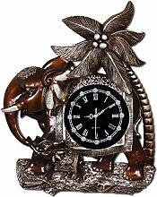 HONGLONG Europäische Wall clock kreativen hängenden Tabelle, Quarzuhr, Amerikanische Ruhig , art deco Tisch Wand