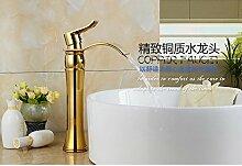 HONGLONG Goldene Qualität anti-Rost Kupfer Waschbecken Waschtisch Armatur