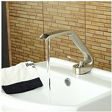 HONGLONG Wasserhahn Bad Armatur Waschtischarmatur Badarmatur Waschtischmischer Waschbecken Armatur