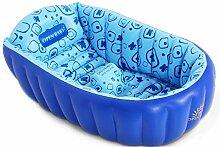 HONGNA Blaue Baby-Badewanne Aufblasbare Wanne