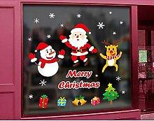 HONGTONG Weihnachten Wandtattoos DIY-Mall-Shop