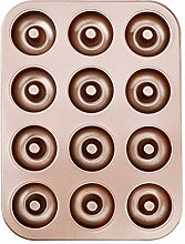 HONGXIN-SHOP Donut Formen 12er Antihaft Metall