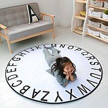 Hongyan Runde Matte Baby Spielmatte/Kinderzimmer