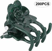 Hongzer 200 Stück Schöne Rosenform Pflanzenclip,