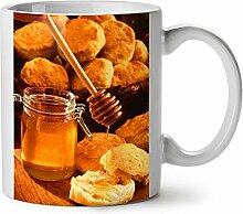 Honig Küche Foto Essen Hart Käse WeißTee KaffeKeramik Becher 11 | Wellcoda