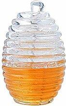 Honigglas, Honigflasche, Saft, Marmelade,