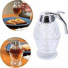 Honigglas-Zuckerspender aus Keramik – Honigglas