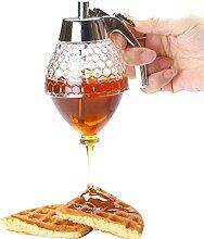 Honigspender, Acryl-Kunststoff, 200ml, mit