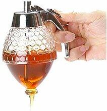 Honigspender ohne Tropfen - Auslösemechanismus