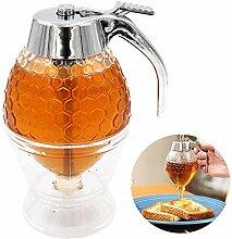 Honigspender Quetschflasche Honigglas Behälter
