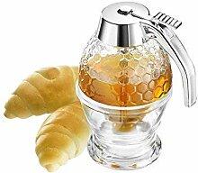 Honigspender, Sirupspender, Honiggießer, 200 ml,