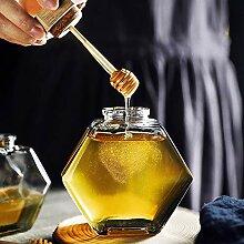 Honigspender Sirupspender Honigglas mit