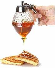 Honigspender, Sirupspender, Kunststoff,