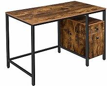 HOOBRO Computertisch, Schreibtisch, Bürotisch mit