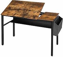 HOOBRO Schreibtisch, Zeichentisch, Computertisch
