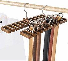Hoocozi 2 Stück Gürtel Organizer Rack Krawatte