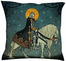 HoodBA Kissenbezug, Motiv: Göttin auf Pferd,