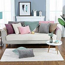 Hoomall Sofabezug Plüsch Anti-rutsch Couch Sofa