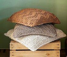 Hoooked DIY Häkelset klobigen Texturen Kissen