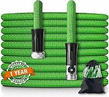HooSeen erweiterbarer Gartenschlauch, flexibler,