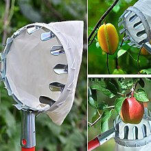 Hooshion Obstpflücker Kopf mit Halter Tasche
