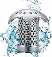 Hoovo 2PCS Rostfreier Stahl Badewannenstöpsel und