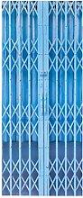 HOPAX Blauer Zaun Türaufkleber Türwandplakate