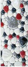 HOPAX Farbedelsteine Türaufkleber